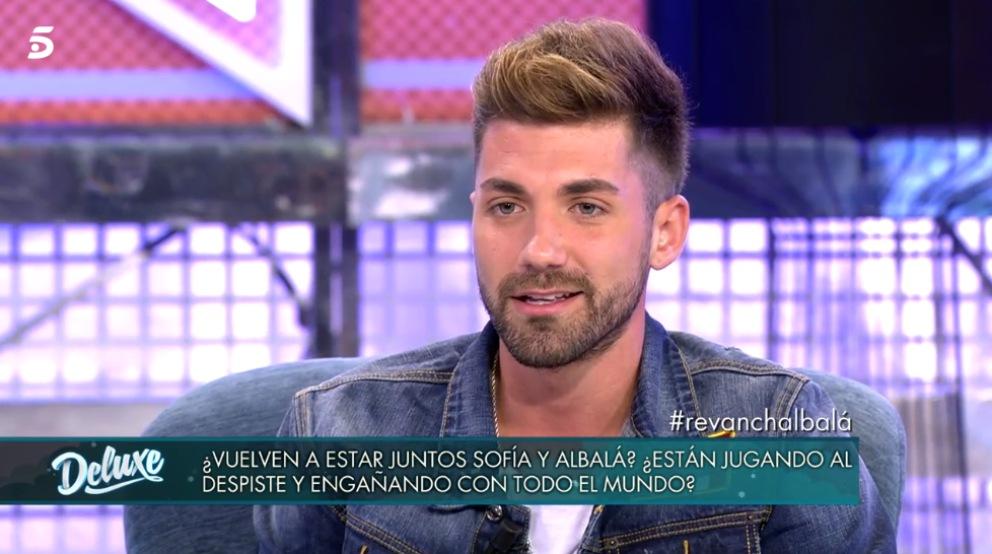 Alejandro Albalá en 'Sálvame Deluxe'