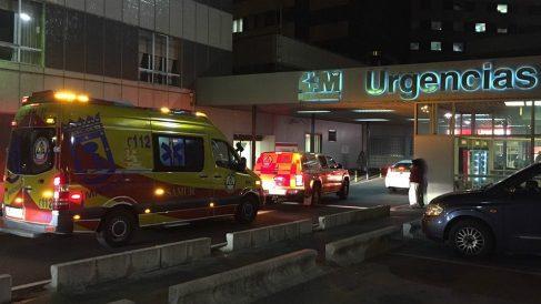 Entrada de Urgencias del Hospital La Paz (Madrid). (EP)
