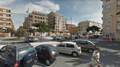 Calles del centro de Alfafar (Valencia), donde se produjo el suceso.