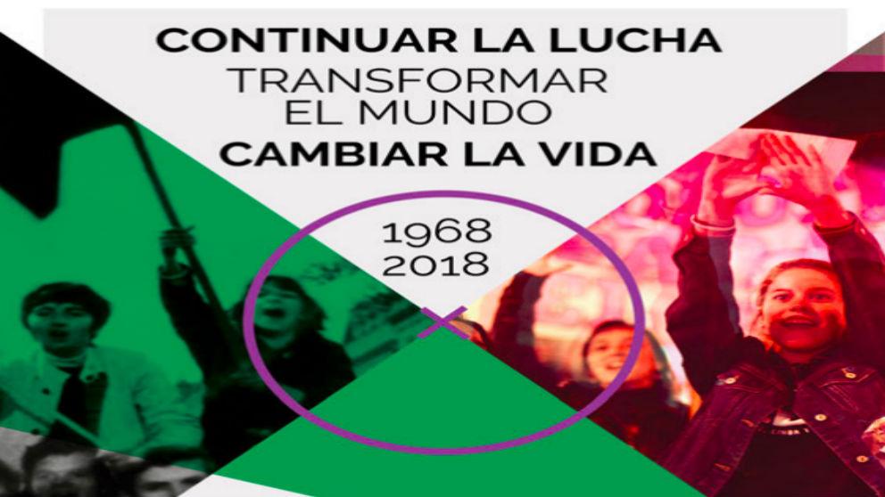 Cartel de la Universidad de Verano de los Anticapitalistas.