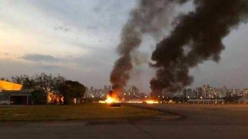 Una avioneta se ha estrellado en Sao Paulo (Brasil).