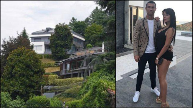 Cristiano ya tiene casa en tur n as es su espectacular for La casa di ronaldo a torino