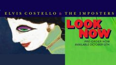 Elvis Costello anuncia nuevo disco para octubre: 'Look Now'.