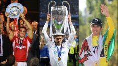 Warburton, Bale y Thomas.