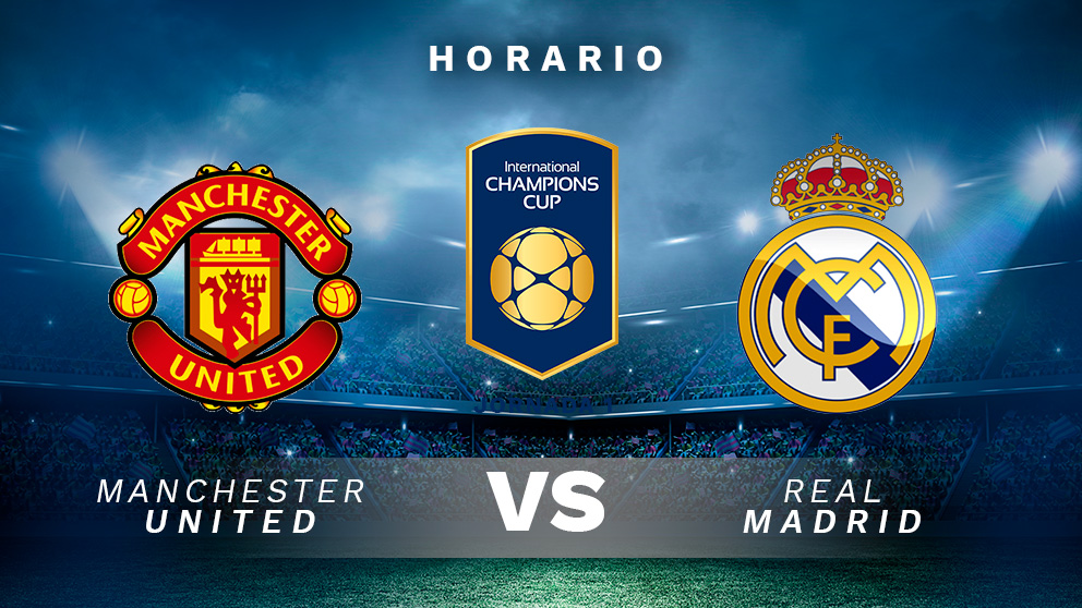 Como Ver El Partido Getafe Vs Real Madrid: Real Madrid Vs. Manchester United: Hora Y Canal De