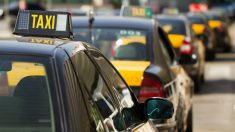 Huelga de taxis de Barcelona (Foto: iStock)