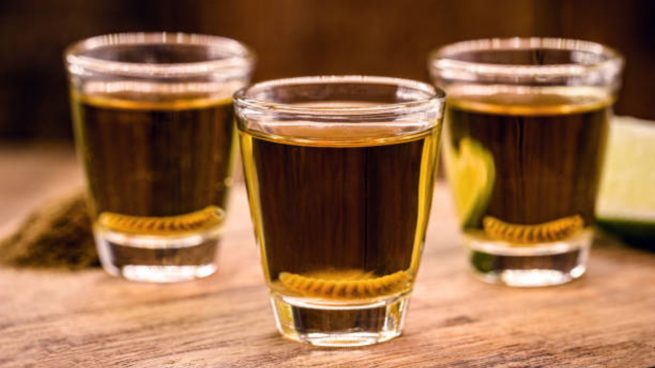 Tequila gusano