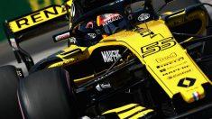 La situación de Carlos Sainz en Renault ha cambiado radicalmente, pasando de ser un piloto de futuro a prácticamente una molestia para sus jefes. (Getty)