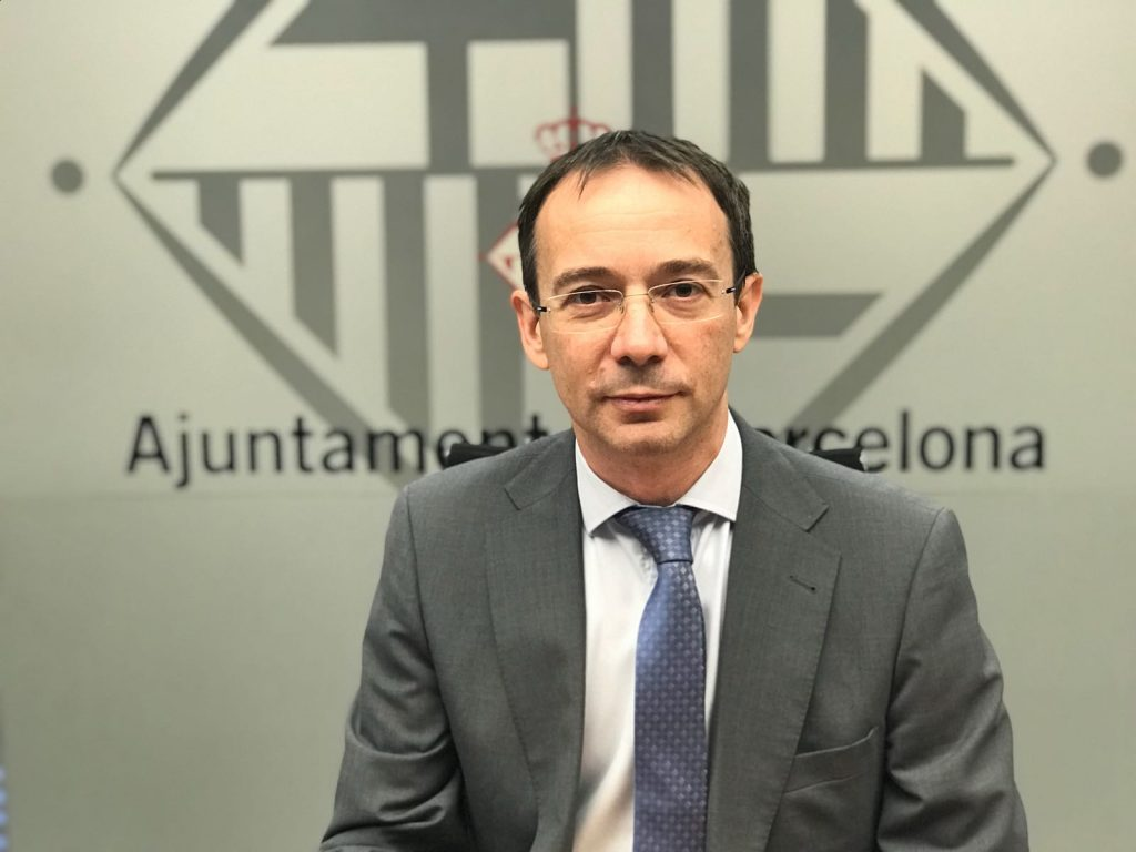 Santiago Alonso, concejal de Ciudadanos (C's) en el Ayuntamiento de Barcelona.