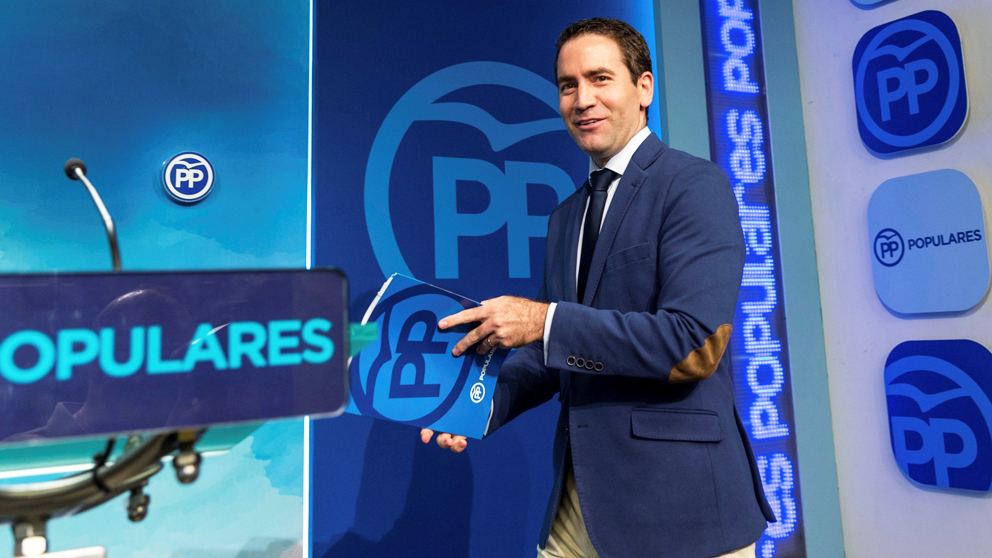 Teodoro García Egea, secretario general del PP. (Foto: EFE)