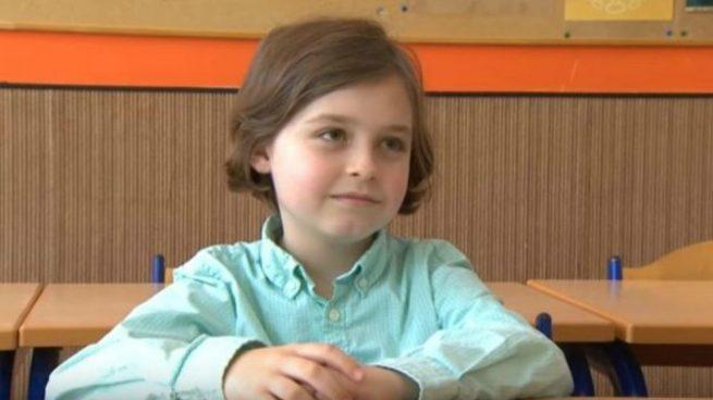 niño belga de 8 años