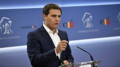 Albert Rivera, presidente de Ciudadanos. (EP)