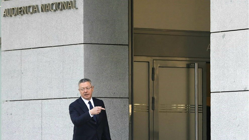 Alberto Ruiz-Gallardón, ex presidente de la Comunidad de Madrid. (EP)