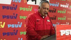 Diosdado Cabello, en el Congreso del PSUV. (ENP)