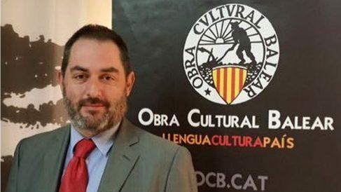 Josep de Luis, presidente de Obra Cultural Balear (OCB).