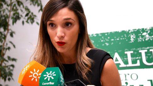 María Márquez, secretaria de Movimientos Sociales del PSOE de Andalucía. (EP)