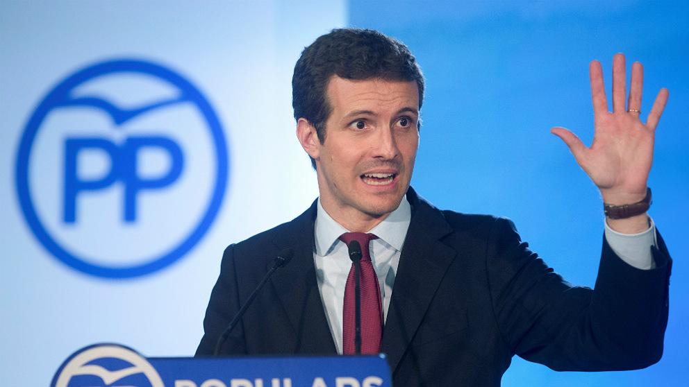 Pablo Casado, presidente del PP. (EFE)