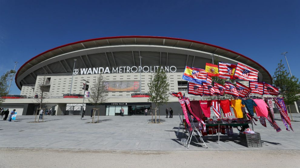 Estadio Wanda Metropolitano. (Getty)