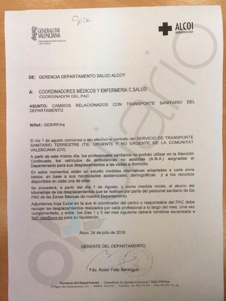 Los médicos valencianos tienen que ir en bici a las urgencias domiciliarias por los recortes de Puig