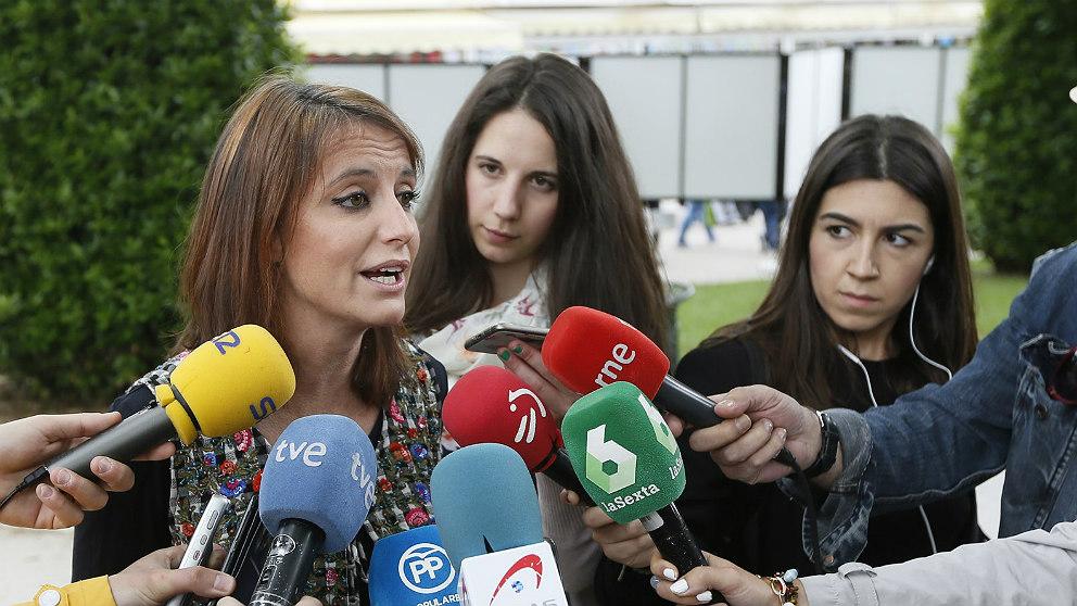 Andrea Levy, diputada del PP en el Parlament de Cataluña. (EP)