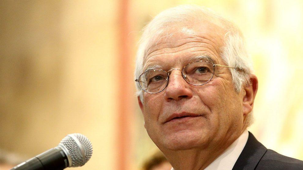 Josep Borrell, ministro de Exteriores. (EP)