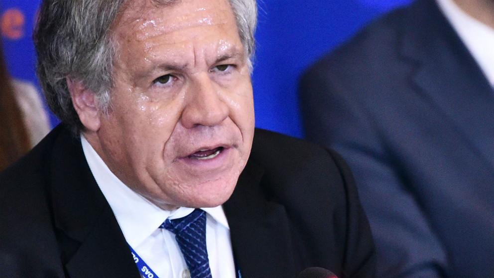 Luis Almagro, secretario general de la OEA. (AFP)