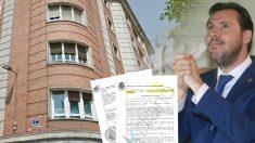 Un edicto de Juzgado dio por buena en 2012 la tasación del futuro piso de Óscar Puente en 724.000 euros.