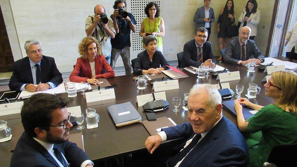 Comisión Bilateral Estado-Generalitat (Foto: EP)