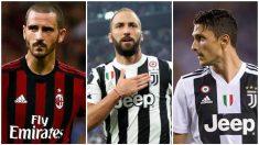 Bonucci volverá a la Juve a cambio de Higuain y Caldara.
