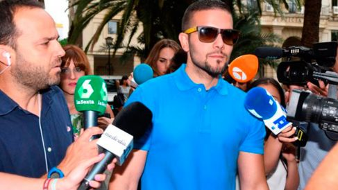 Ángel Boza, miembro de 'La Manada'.