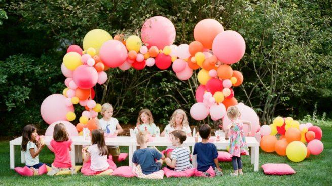 Cómo Hacer Un Arco De Globos Para Decorar Una Fiesta Infantil