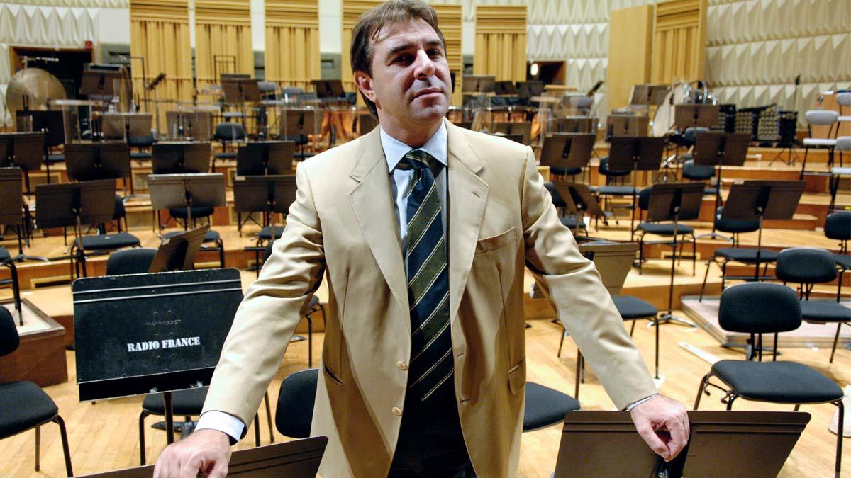El director de orquesta Daniele Gatti. Foto:AFP