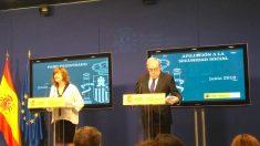 El secretario de Estado de la Seguridad Social, Octavio Granado, durante la presentación de los datos del paro. Foto: Europa Press