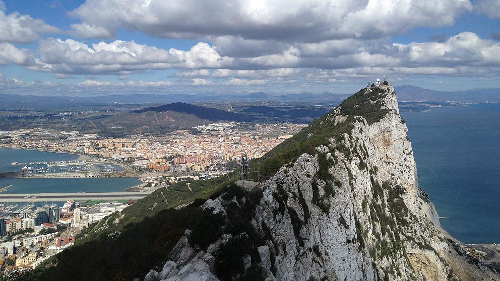 Peñón de Gibraltar, colonia británica en suelo español (EP)