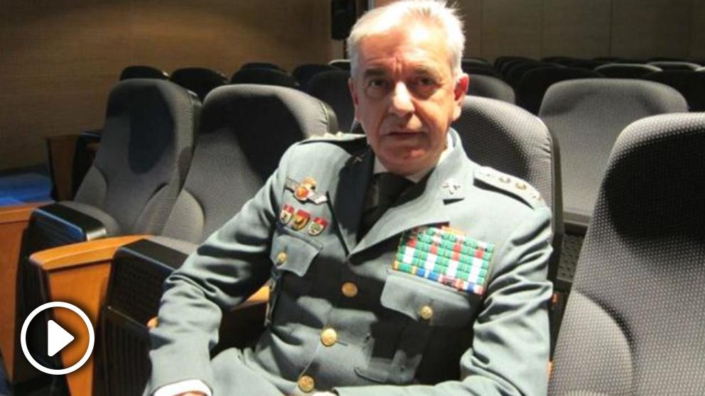 Manuel Sánchez Corbí, coronel jefe de la UCO de la Guardia Civil. (Foto: Europa Press)
