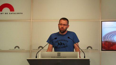 Vidal Aragonés, diputado de la CUP. (EP)