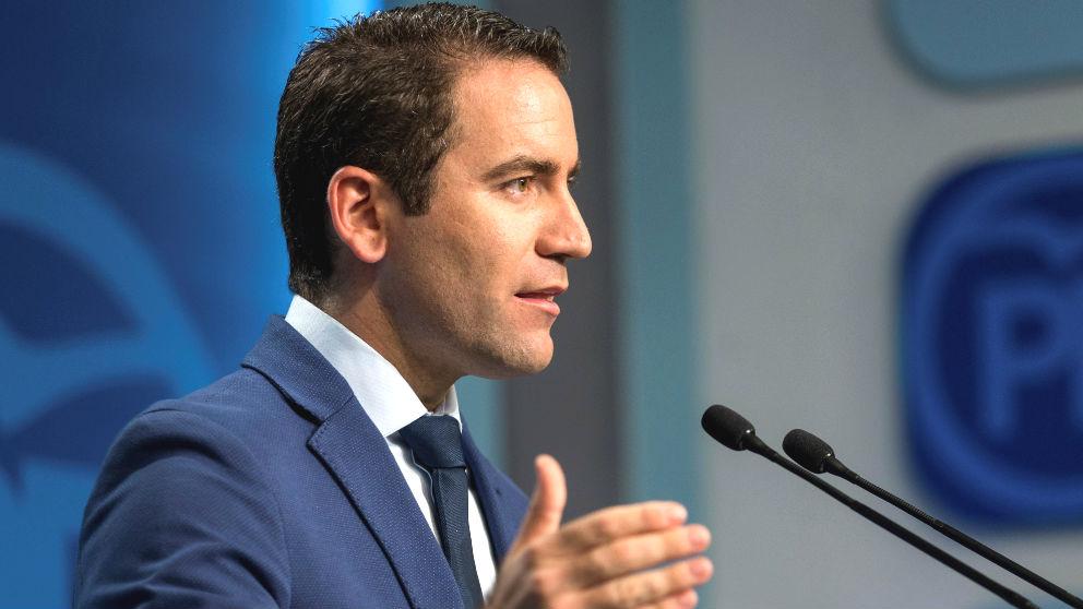 El secretario general del Partido Popular, Teodoro García Egea. (Foto: Efe)