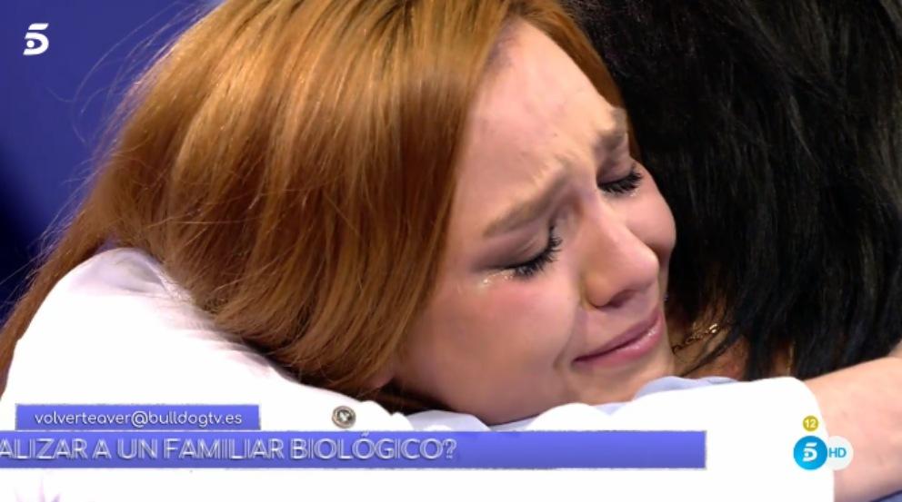 Estefanía ve pro primera vez a su madre en 'Volverte a ver'