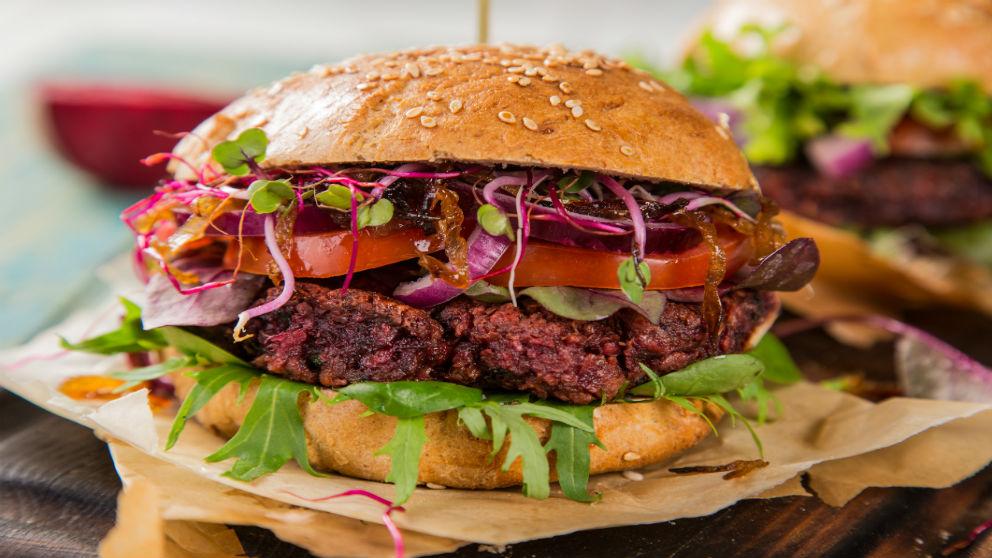 Receta de hamburguesa de remolacha