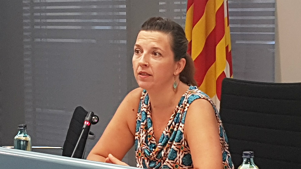 Laia Ortiz, teniente alcalde de Ada Colau en Barcelona. (EP)