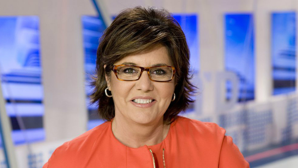 La periodista María Escario. (RTVE)