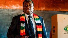 Emmerson Mnangagwa fue durante más de 30 años un aliado fiel del presidente y dictador zimbabuense Robert Mugabe. Foto: AFP