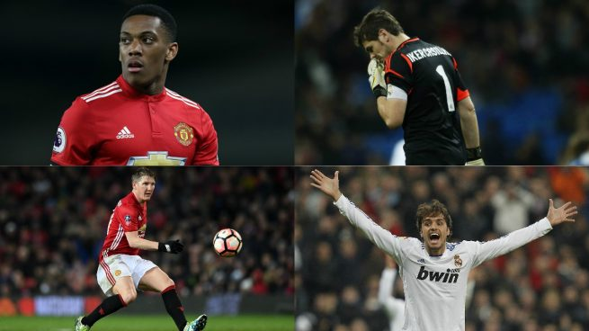 Los 10 futbolistas a los que Mourinho les mostró la puerta de salida
