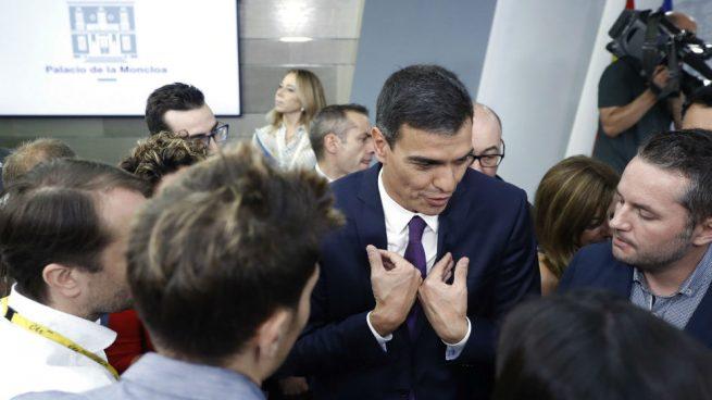 Sánchez solo permite preguntar a periodistas que cubren información del PSOE