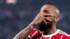 Arturo Vidal tiene abierto un procedimiento en Alemania por una pelea en una discoteca de Múnich (AFP).