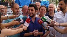 César Zafra, portavoz adjunto de Ciudadanos en la Asamblea de Madrid. Foto: Europa Press