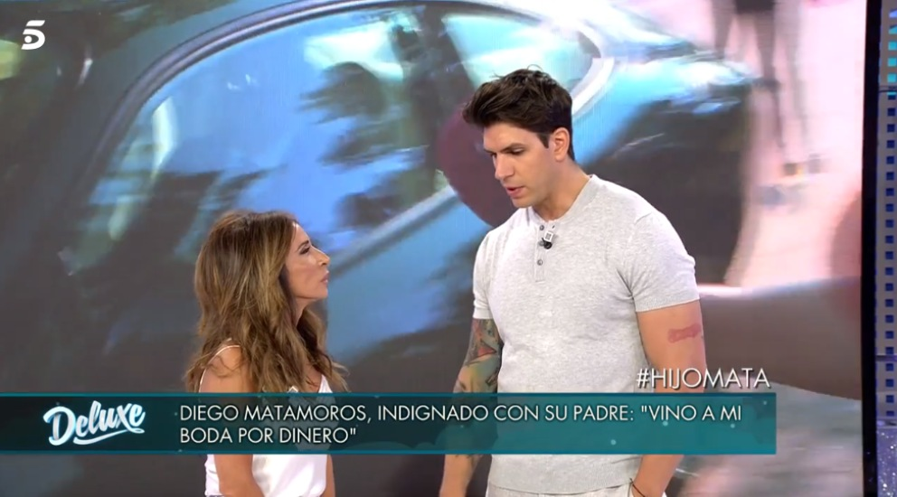 Diego Matamoros en 'Sábado Deluxe'
