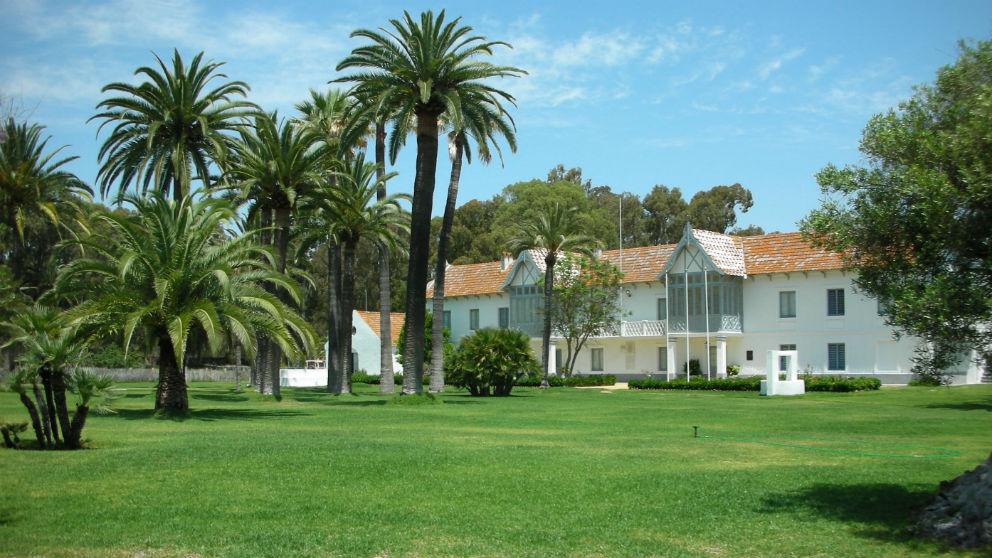 Palacio de Las Marismillas en el Parque Natural de Doñana (Huelva). Foto: Turismo de Huelva