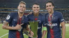 Neymar celebra la Supercopa de Francia. (PSG)
