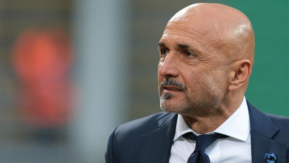 Luciano Spalletti, técnico del Inter de Milán. (Getty)